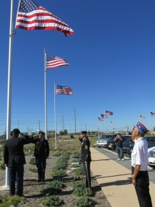 Miramar National Cemetery Flag Ceremony Honors Veteran of WWII's 442nd Regimental Combat Team