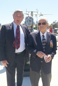Brig. Gen. Cardenas Honored at Unveiling of Statue at Veterans Museum and Memorial Center, Balboa Park