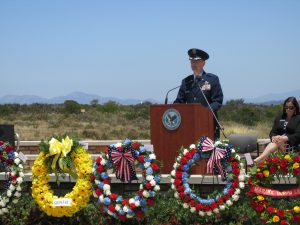 Veterans Memorial Service Speaker Honors Those Who Serve – And Their Families