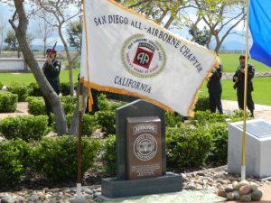Monument honors all who earned the Silver Wings